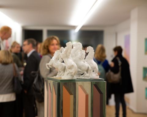Eröffnung der Galerie Albers in Köln