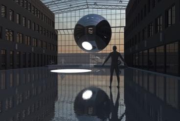 """""""Making Of"""" von """"Inner, Outer, Others"""" von Sebastian Kite in 2020, Hildesheim (Foto: Alice Hinrichs)"""