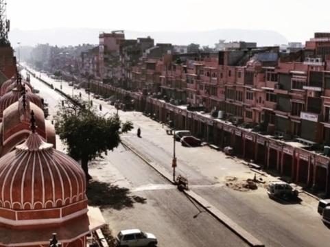 Jaipur Indien im März 2020 Lockdown