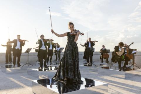 Die Stargeigerin Anna Tifu spielt für FENDI Renaissance – Anima Mundi